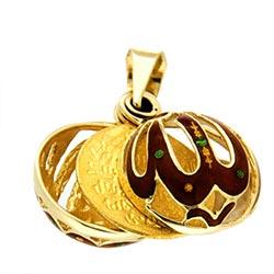 altın kolye ucu
